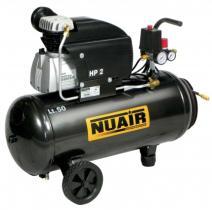Nuair FC2/50 - COMPRESOR 2HP CALDERA 50LTS.222 LTS/MIN 8 BAR