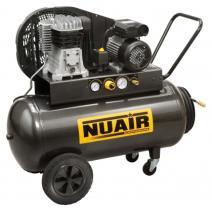 Nuair B2800B/3M/100 - COMPRESOR 3 HP CALDERA 100 LTS. 330 LTS/MIN 10 BAR