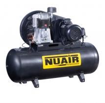 Nuair NB5 - COMPRESOR PISTON FIJO 5.5 HP CALDERA 270LTS 640LTS/MIN 11BAR