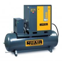 Nuair SIRIO810500 - COMPRESOR TORNILLO 10 HP CALDERA 500LTS. 1000LTS/MIN 10BAR
