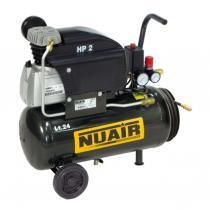 Nuair FC2/24 - COMPRESOR 3 HP CALDERA 100 LTS. 330 LTS/MIN 10 BAR