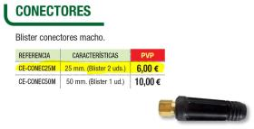 Cevik CECONEC25M - JUEGO CABLES ARRANQUE 25MM 350AMP 3,5M.