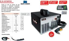 Cevik CECUT30PFCK - COMPRESOR VCX 150 L 3 HP 10 BAR