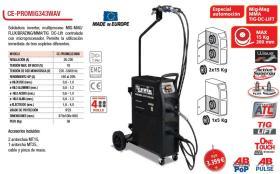 Cevik CEPROMIG343WAV - MAXMIG 220 SYNERGYC GAS