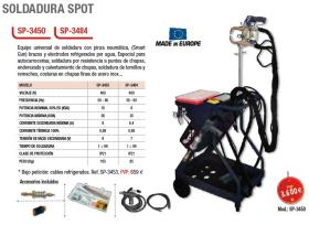 Cevik SP3450 - CARGADOR DE BATERIA 12-24V 30A 3-30A 230V 50/60HZ