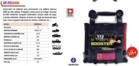 Cevik SPP52500 - CARGADOR DE BATERIA 12-24V 15A 3-15A 230V