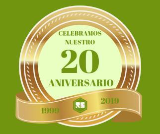 CUMPLIMOS 20 AÑOS GRACIAS A TI