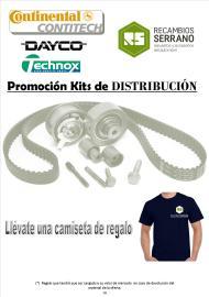 Un kit distribución = 1 camiseta